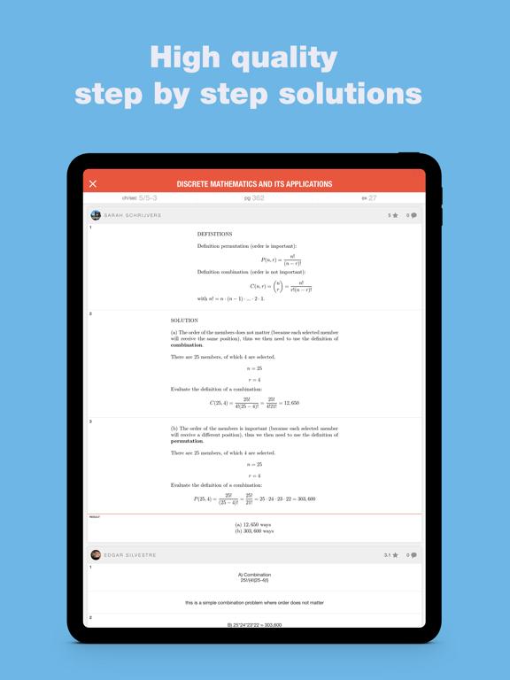 Slader Math Homework Answers - Revenue & Download estimates - Apple