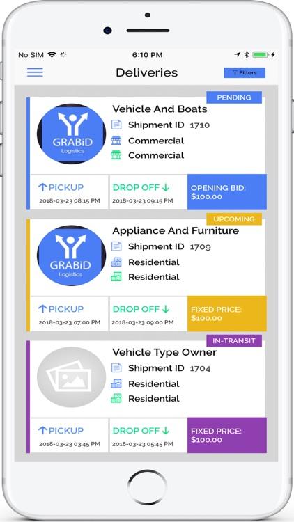 GRABiD Logistics screenshot-4