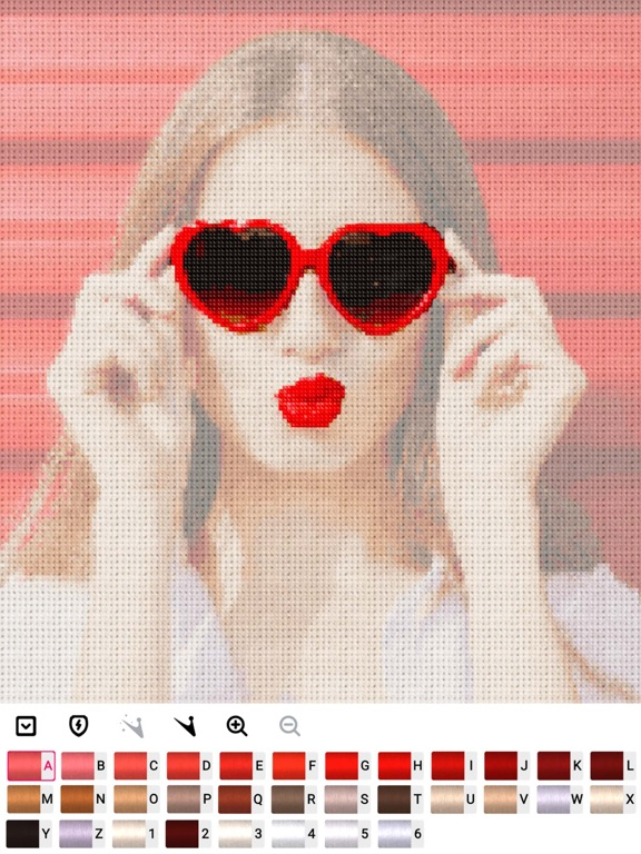 Cross stitch : Color by Letter screenshot 6