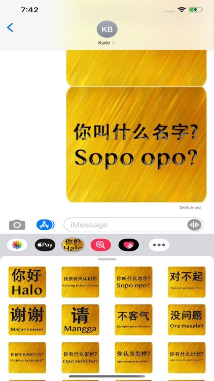 Chinese Javanese screenshot-5