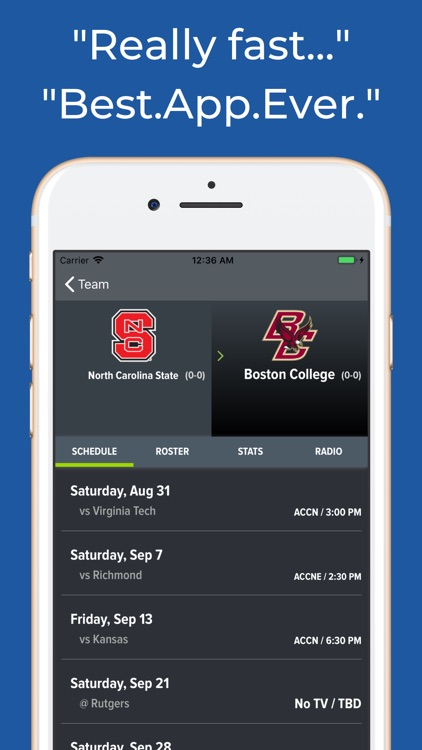 NC State Football App screenshot-8
