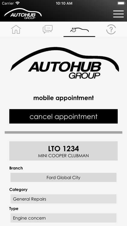 Autohub Mobile App by Paul Joseph Galacan