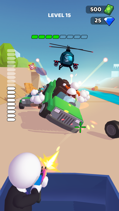 Rage Road - Car Shooting screenshot 2