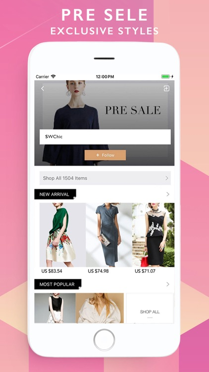 StyleWe Shopping screenshot-2