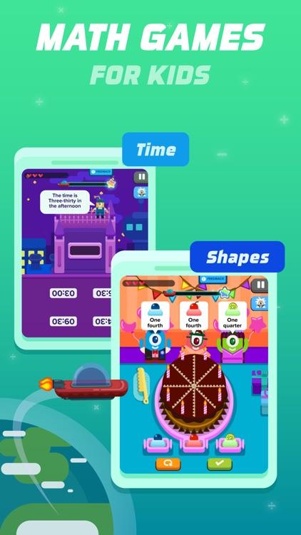 1st Grade Math: Fun Kids Games screenshot-0