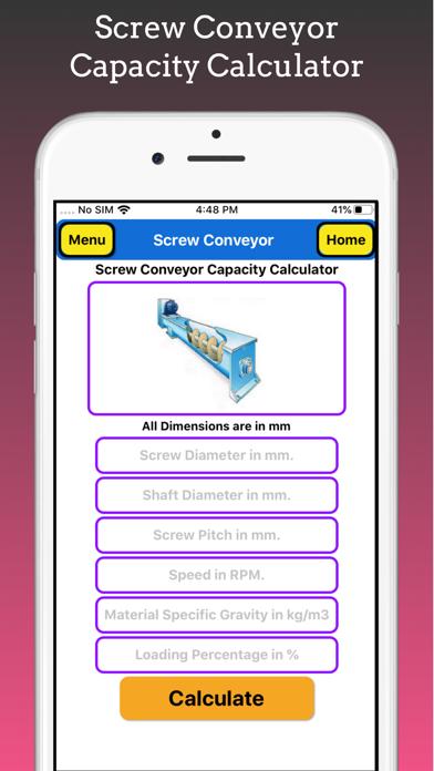 Screw Conveyor Pro screenshot 2
