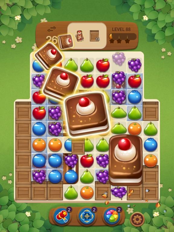 フルーツマジック:甘いパズルマッチのおすすめ画像6