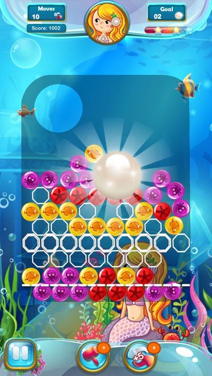 Mermaid Pearl - Match 3 screenshot-4