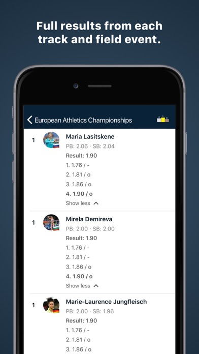 Roster Athletics screenshot