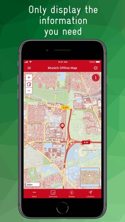Munich Offline Map screenshot-3