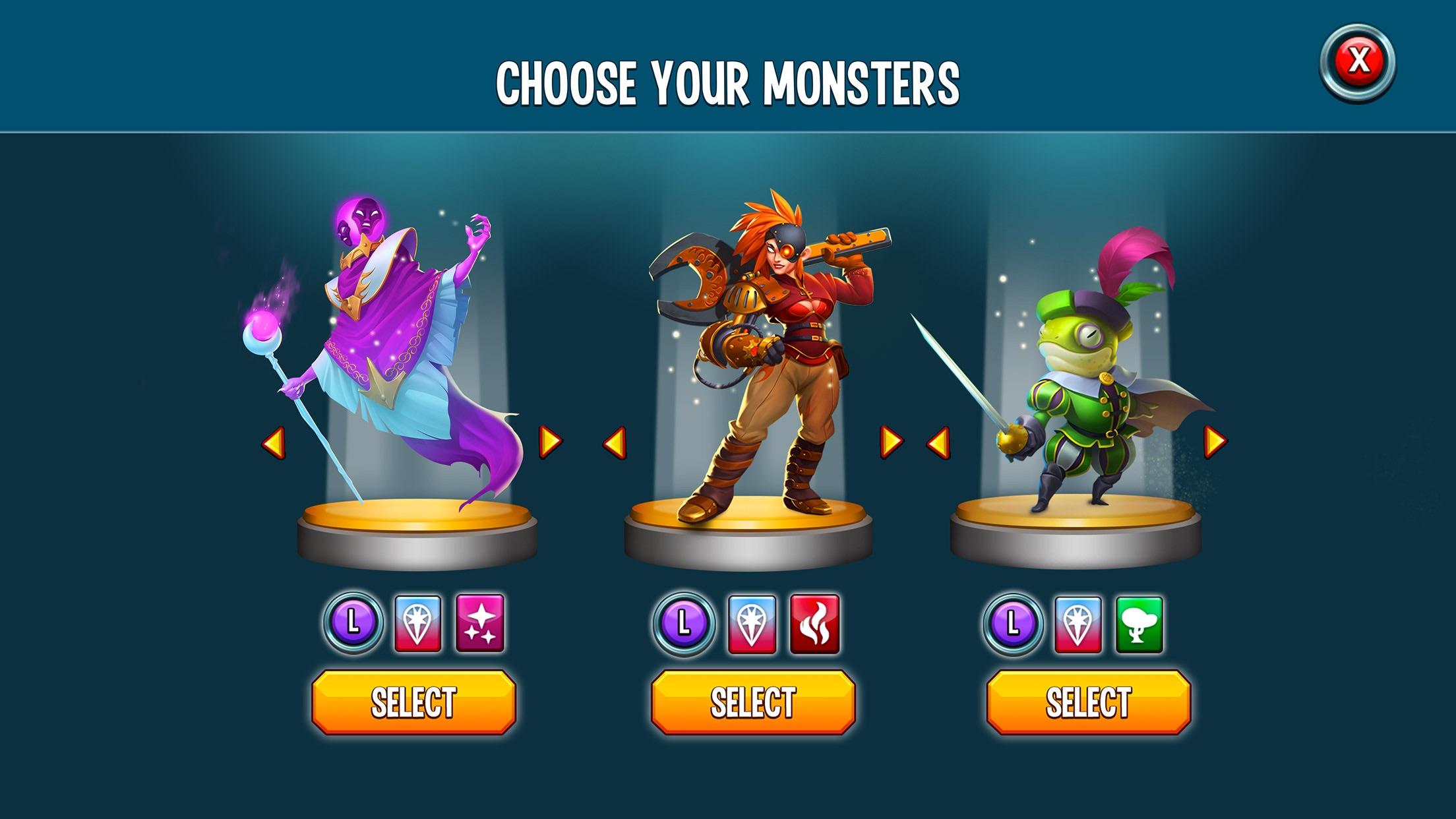 Monster Legends: Collect them! Screenshot