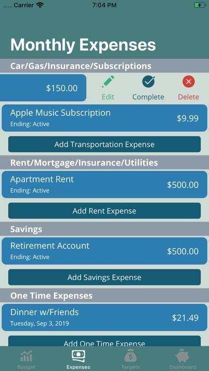 Project Budget screenshot-8