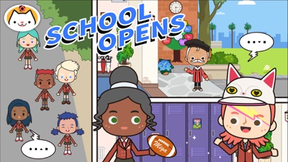 Screenshot for Miga Town: My School in Qatar App Store