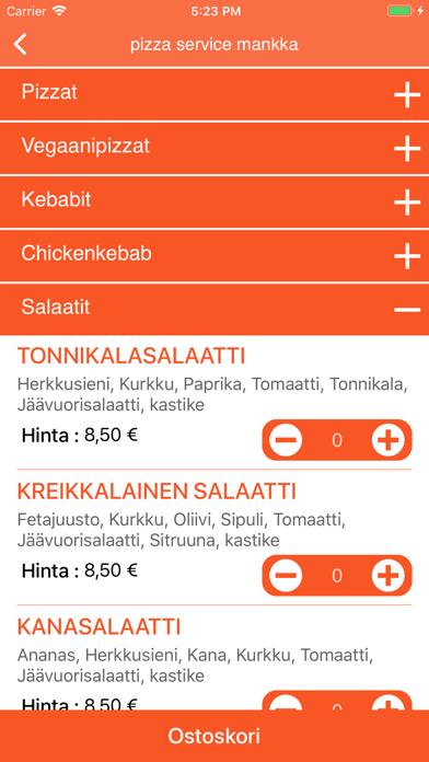 Pizza Service Mankkaa screenshot 3