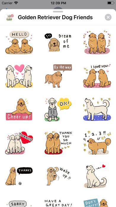 Golden Retriever Dog Friends screenshot 6