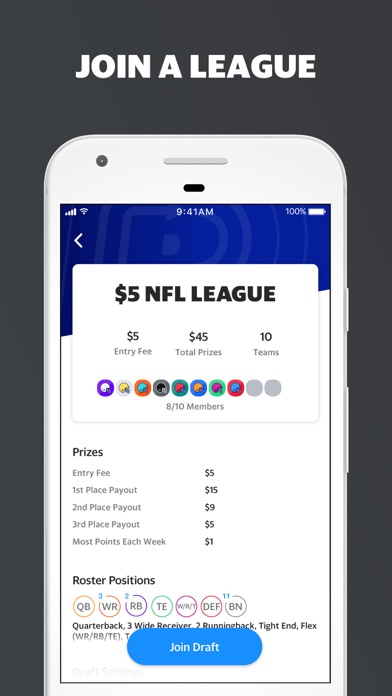 Yahoo Fantasy Sports screenshot four