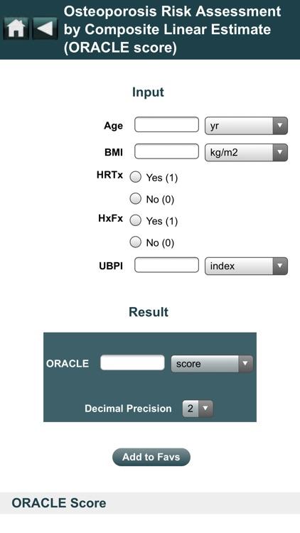 EBMcalc Endocrine screenshot-5