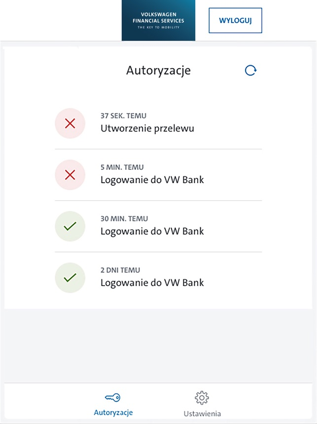 Vwfs Token Mobilny On The App Store
