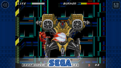 Screenshot from ESWAT City Under Siege Classic