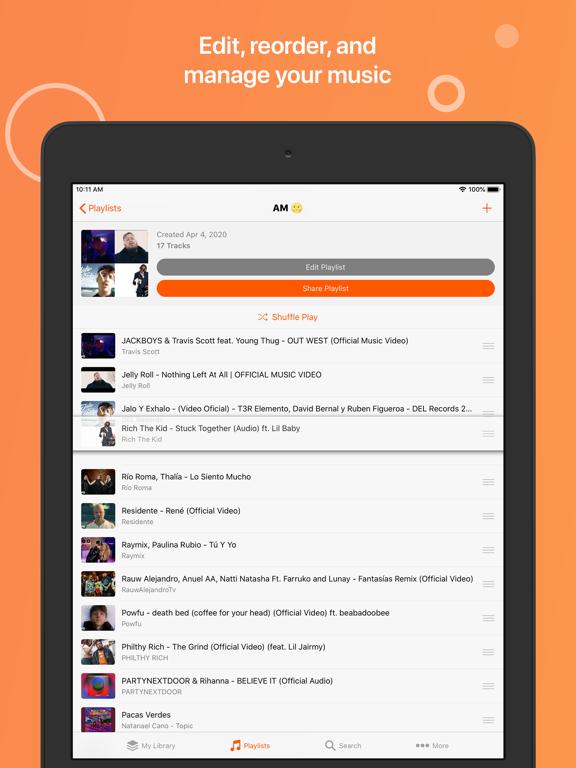 iPad Image of Musi - Simple Music Streaming
