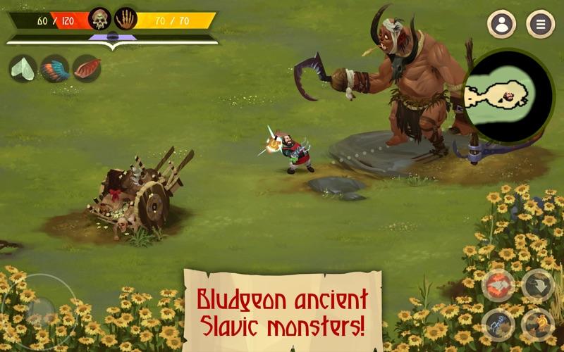 Yaga The Roleplaying Folktale screenshot 1