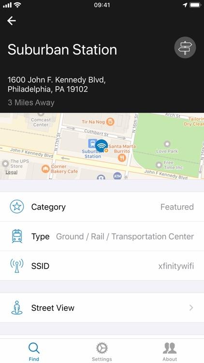 Xfinity WiFi Hotspots screenshot-4