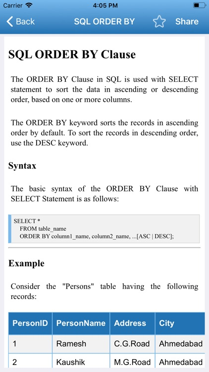 Learn SQL Programming screenshot-5