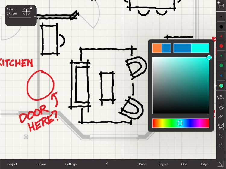 Arrette Scale sketch drafting screenshot-0