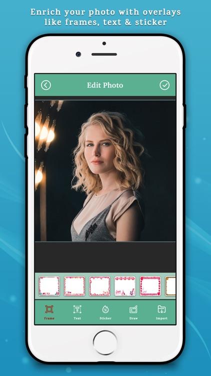 Photo Editor for iPhones screenshot-3
