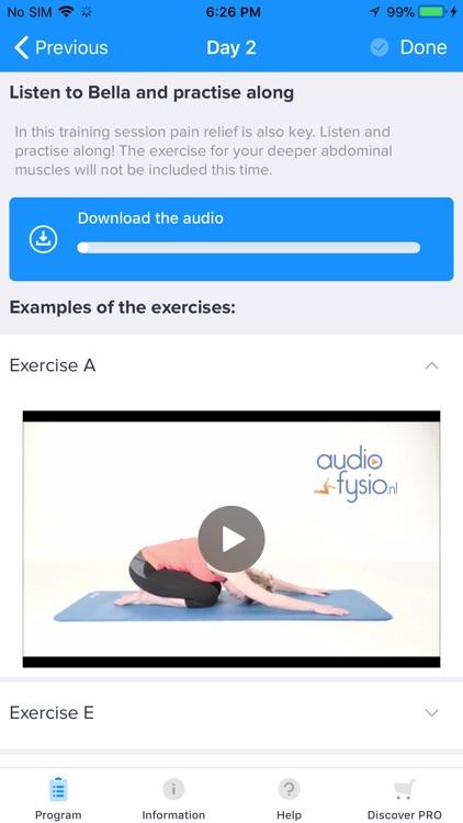 Bella's Lower Back Pain App screenshot-4