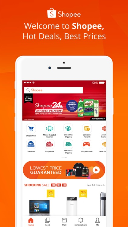Shopee MY: Buy and Sell Online screenshot-0