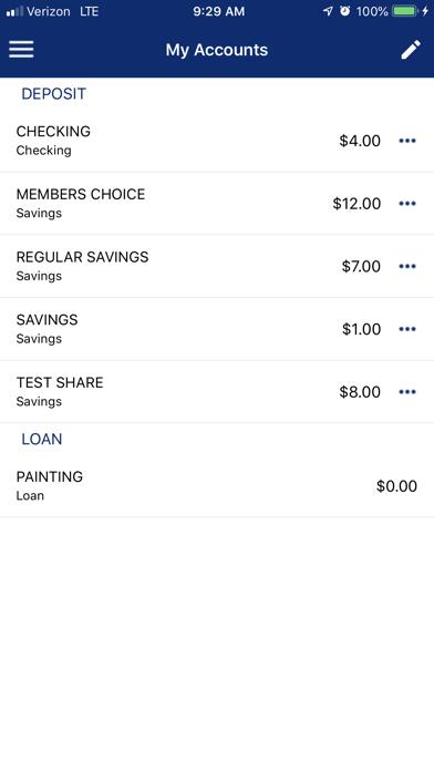 Northeast Credit Union (NECU)Screenshot of 3