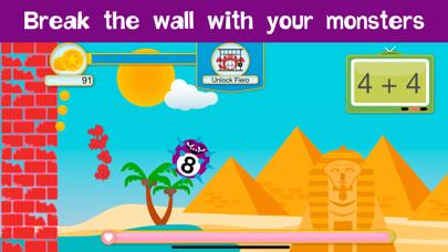 Monster Math - Learning fun screenshot two