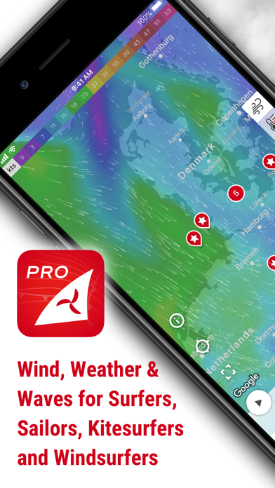 Windfinder Pro Screenshots