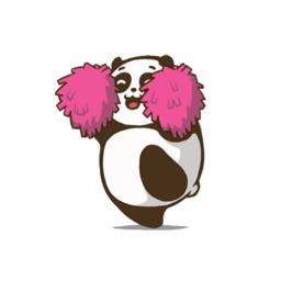 Cute Chubby Panda - Animated