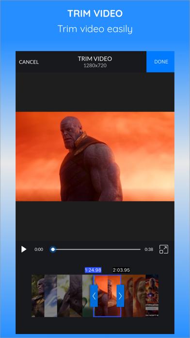 CrVid - Great video editor! Screenshots