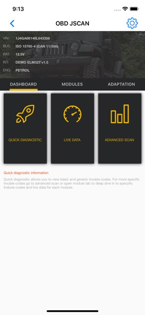 OBD JScan on the App Store