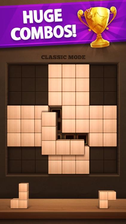 Wood Puzzle 3D Cube Block screenshot-3