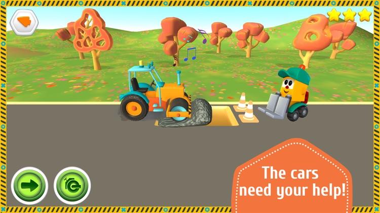 Leo the Truck and Cars Game screenshot-4