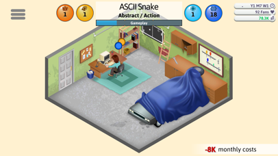 Screenshot for Game Dev Tycoon in United States App Store