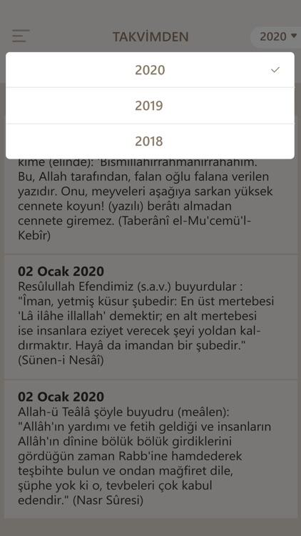 Fazilet Takvimi 2020 screenshot-7