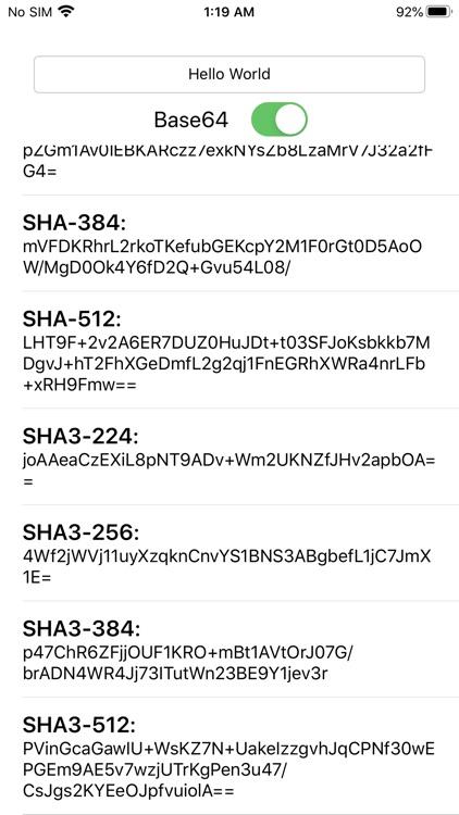 Hash Algorithm Generator screenshot-3