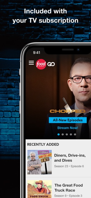 Food Network GO on the App Store