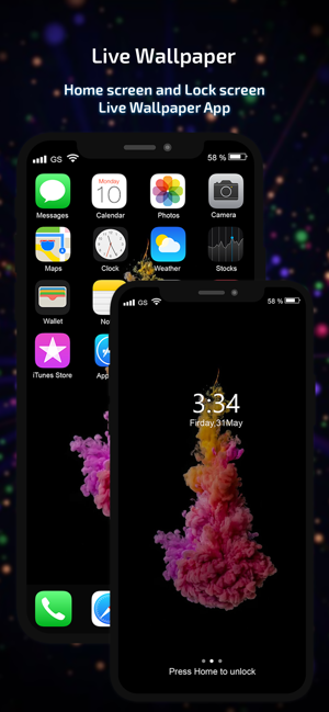 Live Wallpaper Hd Theme Maker En App Store