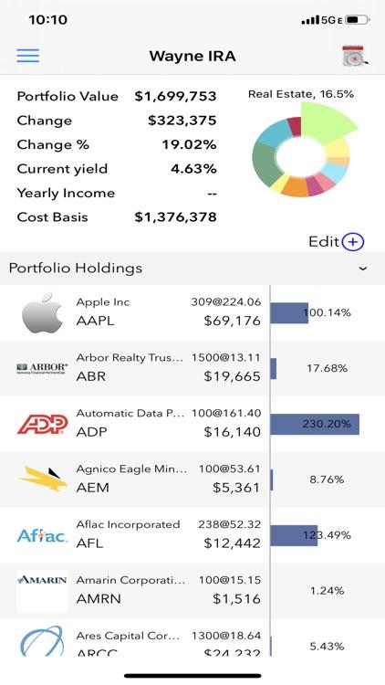 Stock Dividend Tracker screenshot-5
