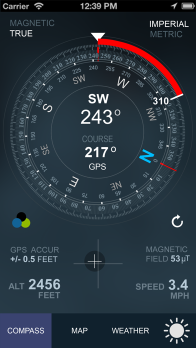 Compass GPS(Map, Weather) Screenshots