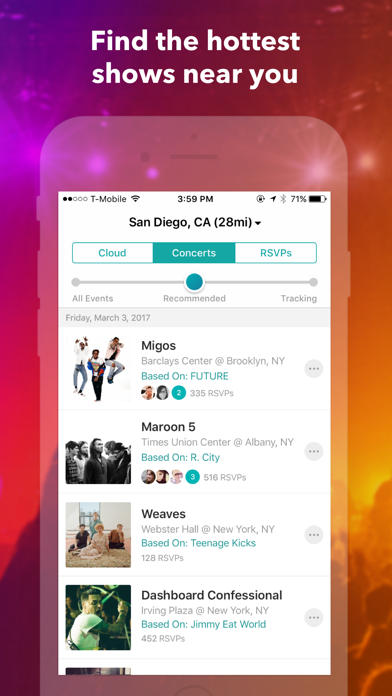 Download Bandsintown Concerts for Pc