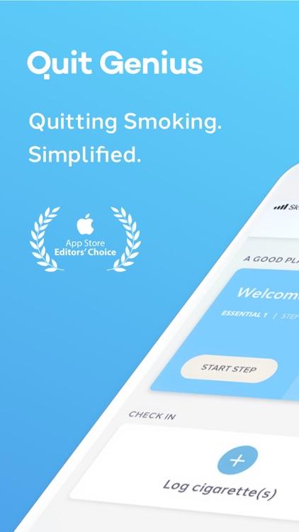 Quit Genius - quit smoking screenshot-0