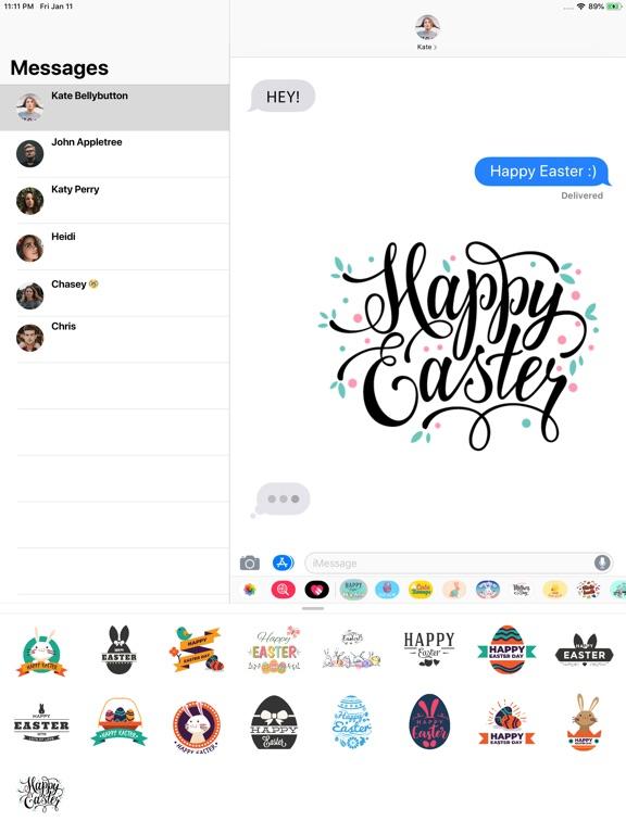 Happy Easter Badges screenshot 2