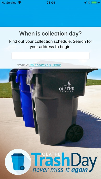 Olathe Trash Day